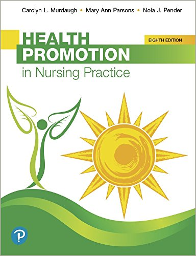 Health Promotion in Nursing Practice  8th 2019 9780134754086 Front Cover