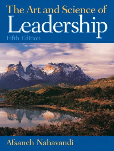 Art and Science of Leadership  5th 2009 edition cover