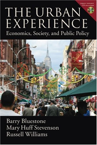 Urban Experience Economics, Society, and Public Policy  2008 edition cover