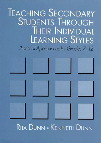 Teaching Secondary Students Through Their Individual Learning Styles Practical Approaches  1992 edition cover