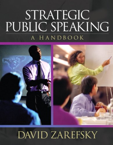 Strategic Public Speaking A Handbook  2007 edition cover