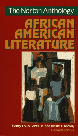 Norton Anthology of African American Literature   1997 edition cover