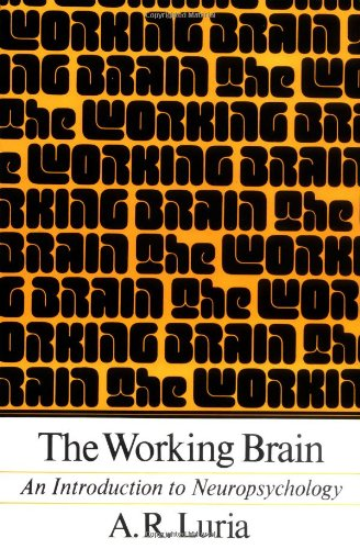Working Brain An Introduction to Neuropsychology  1973 edition cover