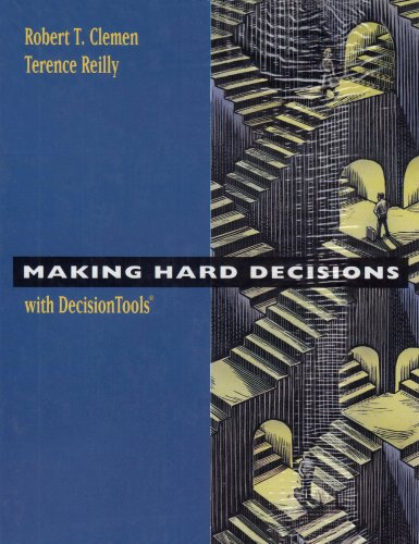 Making Hard Decisions with Decision Tools Suite   2001 (Revised) edition cover