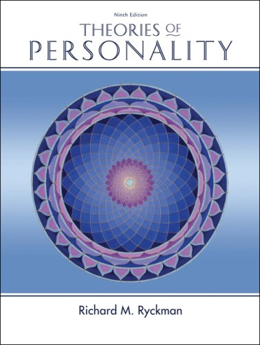 Theories of Personality  9th 2008 edition cover