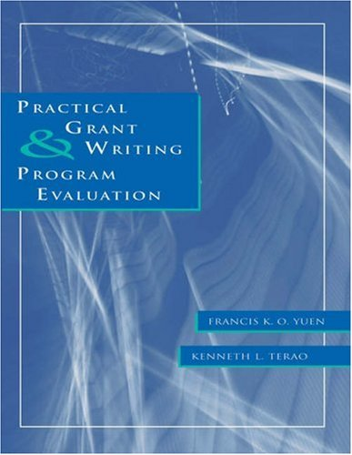 Practical Grant Writing and Program Evaluation   2003 edition cover