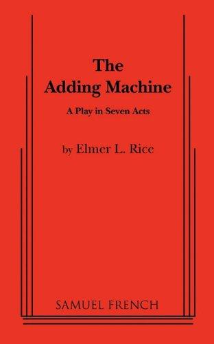 ADDING MACHINE 1st edition cover