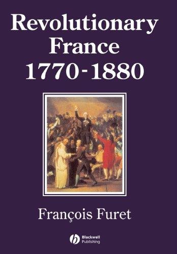 Revolutionary France 1770-1880   1995 edition cover