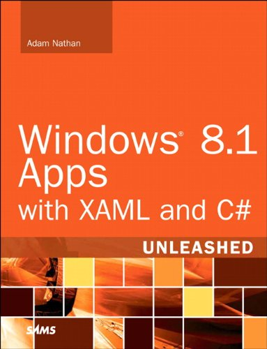 Windows 8. 1 Apps with XAML and C# Unleashed   2014 edition cover