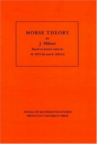 Morse Theory   1963 edition cover