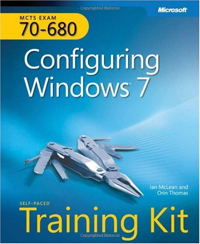 Configuring Windows� 7 MCTS Exam 70-680  2010 edition cover