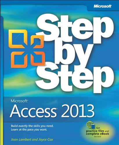 Microsoft� Access 2013 Step by Step   2013 edition cover