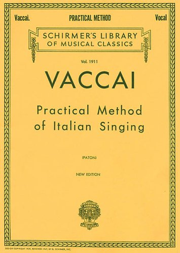 Practical Method of Italian Singing High Soprano N/A edition cover