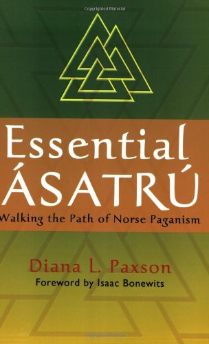 Essential Asatru Walking the Path of Norse Paganism  2007 edition cover
