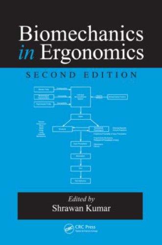 Biomechanics in Ergonomics  2nd 2007 (Revised) edition cover
