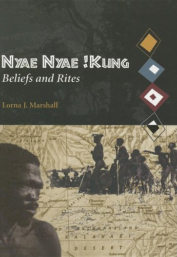 Nyae Nyae !Kung Beliefs and Rites  1999 edition cover