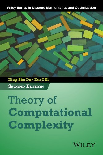 Theory of Computational Complexity  2nd 2014 edition cover