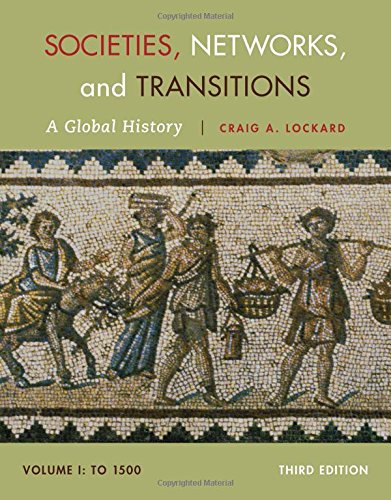 Societies, Networks, and Transitions: A Global History Since to 1500  2014 edition cover