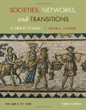 Societies, Networks, and Transitions: A Global History Since to 1500  2014 9781285783086 Front Cover