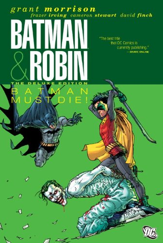 Batman and Robin Must Die!  N/A 9781401235086 Front Cover