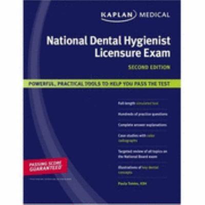Kaplan National Dental Hygienist Licensure Exam  2nd 2007 edition cover