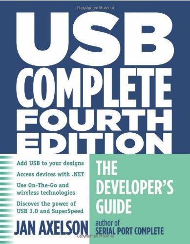 USB Complete The Developer's Guide 4th 2009 edition cover