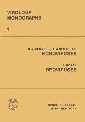 ECHOViruses Reoviruses   1968 9783709182086 Front Cover