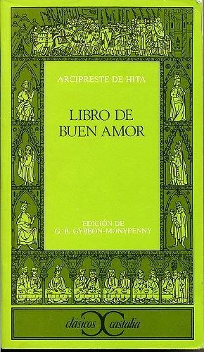 Libro de Buen Amor   1990 edition cover