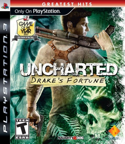 Uncharted: Drake's Fortune - Playstation 3 PlayStation 3 artwork