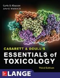 Casarett & Doull's Essentials of Toxicology, Third Edition  3rd 2015 9780071847087 Front Cover