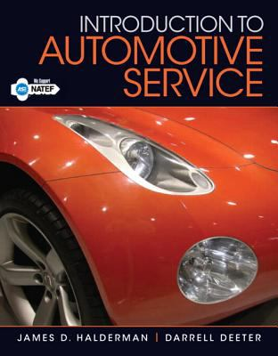 Introduction to Automotive Service   2013 (Revised) edition cover