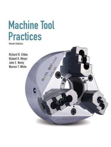 Machine Tool Practices  9th 2010 edition cover