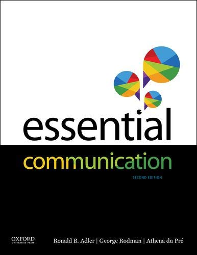 Essential Communication  2nd 2019 9780190650087 Front Cover