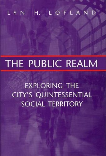 Public Realm Exploring the City's Quintessential Social Territory  1998 9780202306087 Front Cover