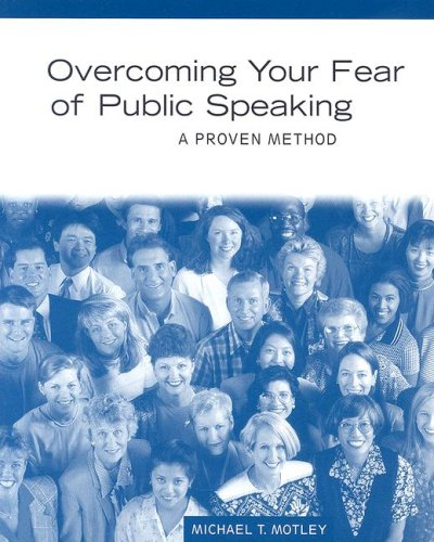 Overcoming Your Fear of Public Speaking A Proven Method  1997 edition cover