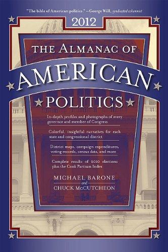 Almanac of American Politics 2012   2011 edition cover