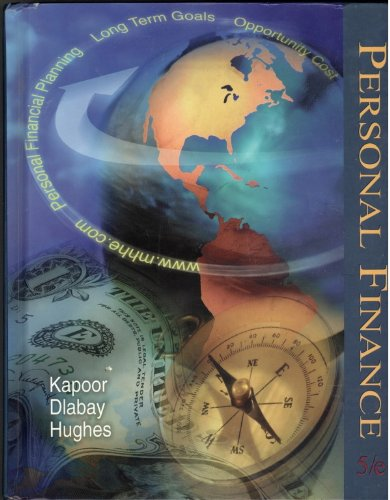 Personal Finance 5th 1999 edition cover