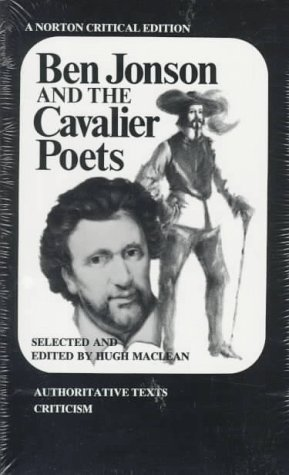 Ben Jonson and the Cavalier Poets   1974 edition cover