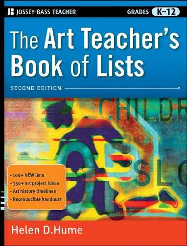 Art Teacher's Book of Lists  2nd 2010 edition cover