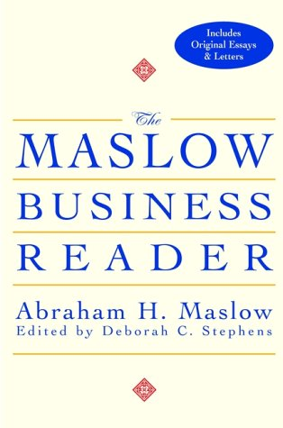 Maslow Business Reader   2000 9780471360087 Front Cover