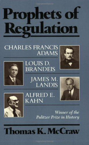Prophets of Regulation   1984 edition cover