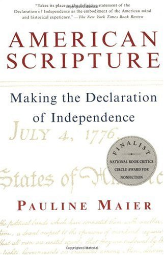 American Scripture Making the Declaration of Independence  1998 edition cover