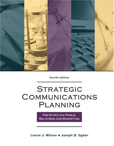 Strategic Program Planning for Effective Public Relations Campaigns  4th 2004 (Revised) 9780757512087 Front Cover