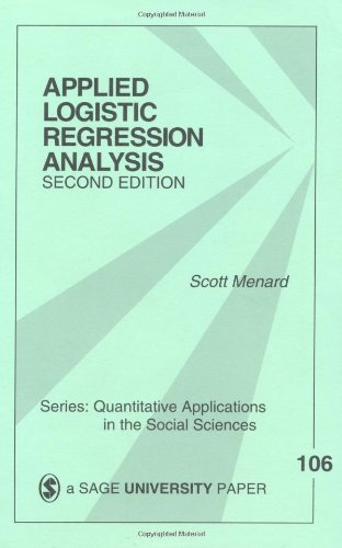 Applied Logistic Regression Analysis  2nd 1997 (Revised) edition cover