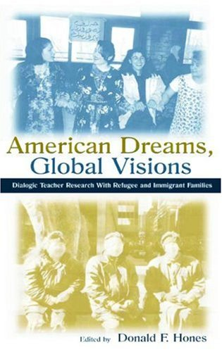 American Dreams, Global Visions Dialogic Teacher Research with Refugee and Immigrant Families  2002 edition cover