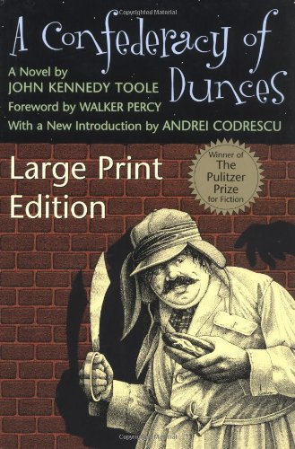 Confederacy of Dunces  Large Type edition cover