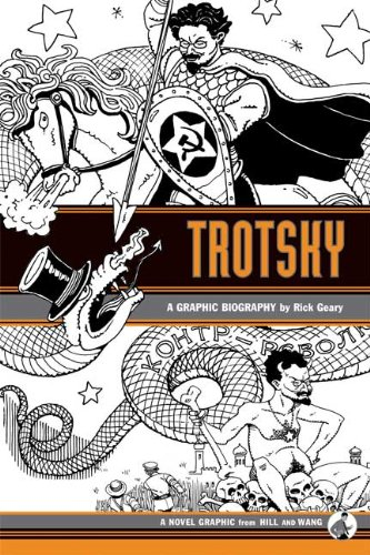 Trotsky A Graphic Biography  2009 edition cover