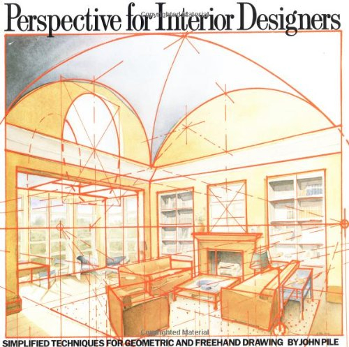 Perspective for Interior Designers   1989 9780823040087 Front Cover