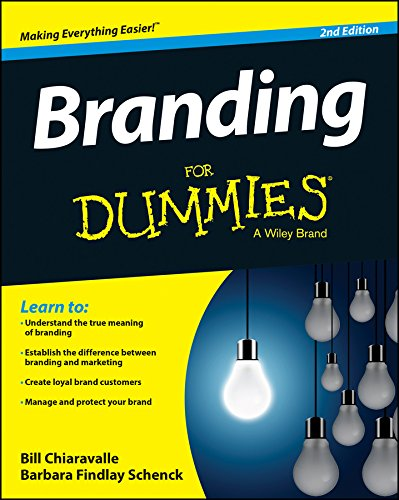 Branding for Dummies�  2nd 2015 edition cover