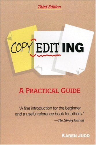 Copyediting A Practical Guide 3rd 2002 (Revised) edition cover